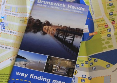 Byron Shire Council - Brunswick Heads Way Finding Map Brochure