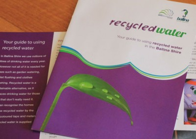 Ballina Shire Council Recycled Water Brochure