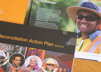 Lismore City Council Reconciliation Action Plan Brochure