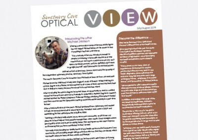 Sanctuary Cove Optical Newsletter