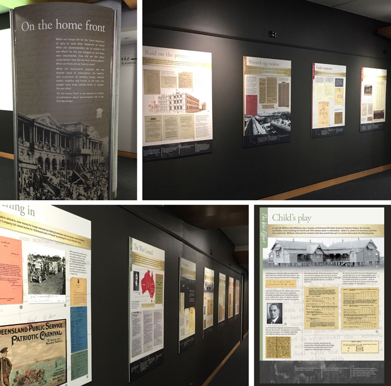 Queensland State Archives – 'On the home front' exhibition