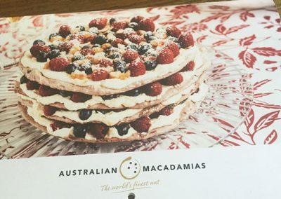 Australian Macadamias Cookbook Calendar