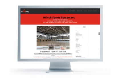 HiTech Sports website
