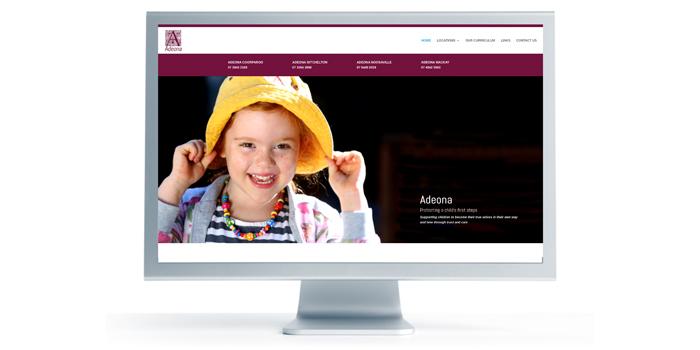 Adeona website update