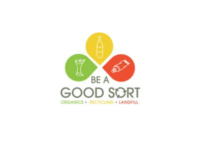 Be a good sort logo