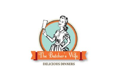 The Butchers Wife Logo
