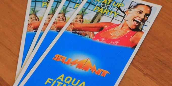 Summit Fitness brochure