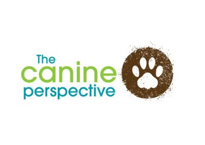 The canine perspective logo