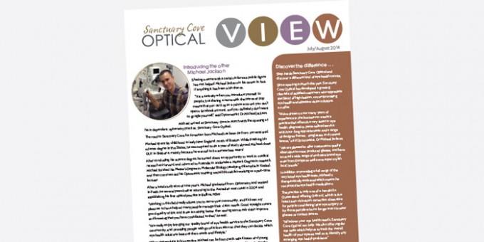 Sanctuary Cove Optical newsletter