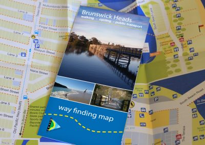 Brunswick Heads Way Finding Map - Bryon Shire Council