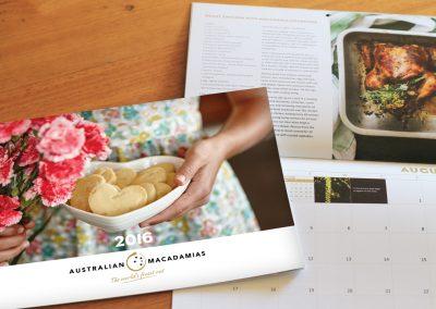 Australian Macadamias Calendar