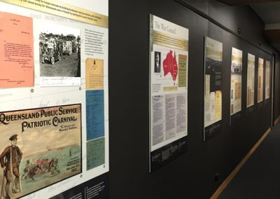 Queensland State Archives foyer display