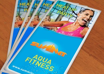 Summit Fitness flyer
