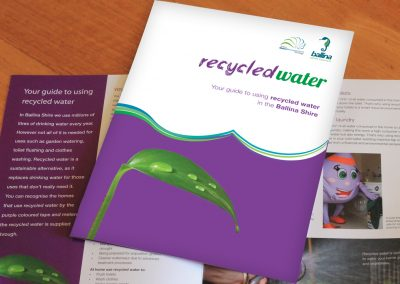Ballina Shire Council - Recycled Water brochure