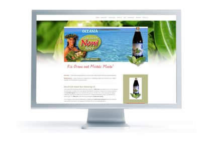 Noni Juice Cook Islands website