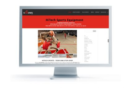Hitch Sports website
