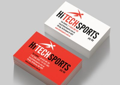HiTech Sports logo design